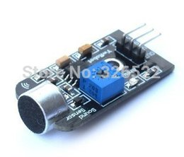 Wholesale Sound Board Microphone - Free Shipping 10pcs lot New Analog Sound Sensor Board Microphone MIC Controller For Arduino