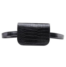 Vintage PU Leather Waist Bag Women Alligator Cintura Paquete Travel Belt Wallets Envío gratis desde fabricantes