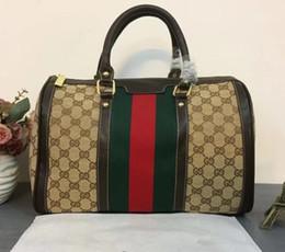 Wholesale Christmas Package Holidays - 2018NEW G & G men and women business package high quality travel travel holiday printing bag handbag shoulder bag Messenger bag
