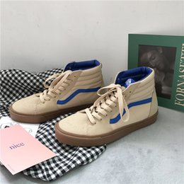 Wholesale Oxford Flats Leather - 1966 Men's Sneakers Unisex Shoes Canvas Spring Fall Oxfords Walking Shoes Flat Heel Lace-up Casual Outdoor Office & Career Lace-up Flat Hee