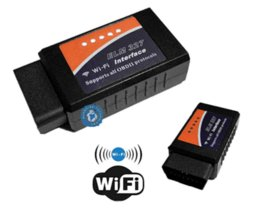 Wholesale Obd2 Scanner Launch Android - 2014 Top Rated ELM327 Wifi Scanner OBD2 With Newest Version V2.1 ELM 327 Auto Diagnostic Interface For Android And i---Phone M19601