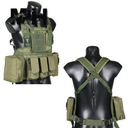 Wholesale Tactical Vest Airsoft Paintball - Fall-Army Military Tactical Adjustable Weighted Camo Workout Weight Vest Airsoft Paintball Molle Combat Assault Vest