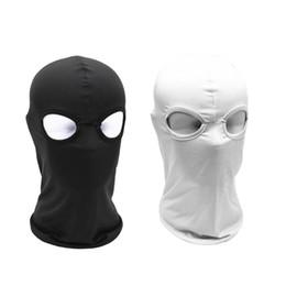 Al por mayor-1Pcs 2 agujeros antipolvo a prueba de viento Headwear  transpirable tapa de la cara del montar a caballo máscara de esquí de esquí  deporte ... 926d185c0f98d