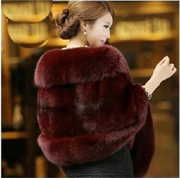 Wholesale Womens Black Winter Vests - Autumn and Winter warm New Silver Fox Fur Vest gilet outerwear womens fashion fur coat plus size 3 color! free shipping