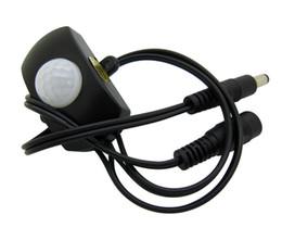 Wholesale Black Pir Sensor - Pir Sensor Switch Motion Human Induction Black Color 5-24V T-2023 For 5050 3528 Led Strip Light