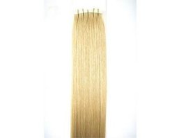 "Wholesale Ash Hair Extensions - Wholesale - 5A 16"" - 24"" 100% Human hair PU EMY Tape Skin Hair Extensions 2.5g pcs 40pcs&100g set #16 ash blonde DHL free"