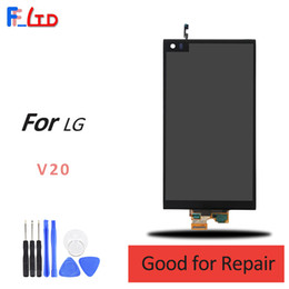 Wholesale Replace Lcd Screen - Original AAA+++ for LG V20 LCD Display Digitizer Touch Screen without Frame Replace 100% Tested Free DHL Shipping