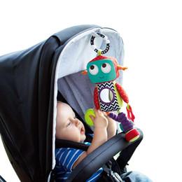 Sozzy Bebek Peluş Mobil Müzik Çıngırak Oyuncaklar Robot Tarzı Yenidoğan Bebek için Oyuncaklar Asma Oyuncaklar 0-12 ay Erken Eğitici Oyuncaklar Bebek nereden robot bebekleri tedarikçiler
