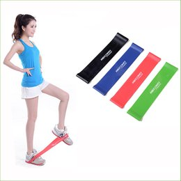 Wholesale Wholesale Pull Ups - BBR02 New 4psc lot 4 Levels Available Pull Up Assist Bands Crossfit Exercise Body Ankle Fitness Resistance Loop Band