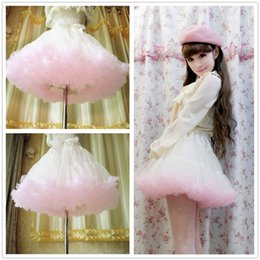 Wholesale Cheap Petite Clothing - 2016 Wedding Skirt Princess Ballerina Skirt Girls Women's Clothing Short Tutu Skirt Tulle Cheap Online Party Wear Summer Wedding Outfits