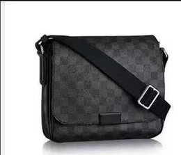 Wholesale Leather Office Bags For Men - New Genuine Leather Bags Crossbody Messenger Bag Leather Office Bags for Men Document Briefcase Travel Bags