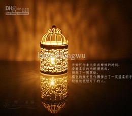 Wholesale Votive Lanterns Wholesale - 2016 New arrival Decorative Moroccan Lantern Votive Candle Holder Hanging Lantern Vintage Candlesticks Home decor 3 styles in stock
