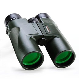 Wholesale Army Telescope - Military HD USCAMEL 10x42 Binoculars Professional Hunting Telescope Zoom High Quality Vision No Infrared Eyepiece Army Green