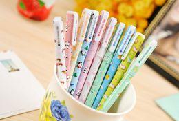 Wholesale Animal Ink Pens - Free Shipping New cute cartoon cute animals gel pen  gel pen  Promotion Gift   Wholesale