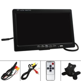 Wholesale Interface Monitoring - HD 800 x 480 7 Inch Color LCD Screen Car Rear View Monitor with HDMI + VGA Interface CMO_301
