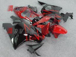 Cbr954rr impermeabile rosso nero online-2014 Hot red black INJECTION Carena Kit carrozzeria CBR900RR CBR954RR 2002-2003 065