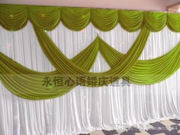 Wholesale Cheap Wedding Table Decor - High Quality Wedding Backdrop Curtain Angle Wings Sequined Cheap Wedding Decorations 6m*3m Cloth Background Scene Wedding Decor Supplies