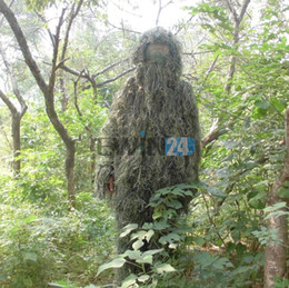 Wholesale New Woodland and Forest Design Ghillie Suit One Size Fits Most Adults New and Hot Selling