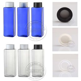 Wholesale Wholesale Personal Care Products - Capacity 250ml 100pcs lot factory Wholesale Square double cover, suitable for loading high-end products flower water