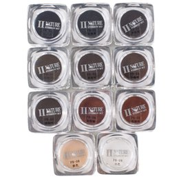 Wholesale Wholesale Make Up Supplies - 11 Colors Square Bottles PCD Tattoo Ink Pigment Professional Permanent Makeup Ink Supply Set For Eyebrow Lip Make up Tattoo Kit