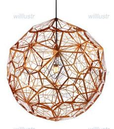 Wholesale Etch Web Pendant - Tom Dixon Etch Web pendant lamp Bedroom Living room Lamps modern design lighting tom dixon light