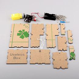 Конечная коробка онлайн-Ultimate Magic оставьте меня в покое бесполезно Box Kit Machine Science Kit DIY версия собранный комплект Geek подарок, dandys