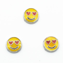 Wholesale Happy Faces - The Floating Charm of life and memory every day my smiling face is such a happy box
