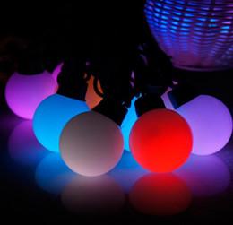 2019 décorations de balles blanches LED String Lights Cordes étanches Ball String Lights 5M 20LED Cordes LED Festival Décoration de Noël Blanc Jaune Rose Violet RGB promotion décorations de balles blanches