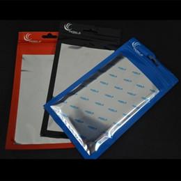упаковка для сотовых телефонов Скидка 20*11.5 см 18*10 см ясно + алюминиевый пластик OPP розничная упаковка пакет сумка Сумка для мобильного сотового телефона кабель случае аксессуары