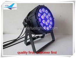 Wholesale Par Led Rgbaw - 6light+1flight case 18x18w 6in1 rgbaw uv led par light outdoor par light