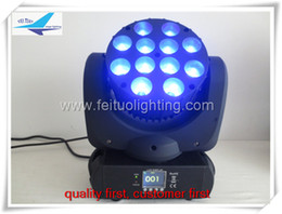 Wholesale Moving Led Display - (10 lot)led display stage led moving head 12x10w beam 120w moving head dj equipment