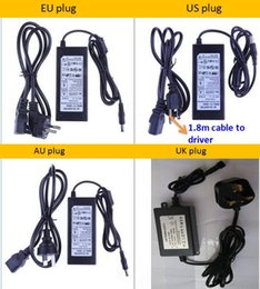 typen led-streifenverbinder Rabatt 8W DC12V LED-Lichttransformator LED-Treiber Netzteil für LED-Licht (EU UK US AU-Stecker) kann an AC85-264V Strom 1 Stück / Los anschließen