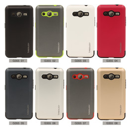 Wholesale S7562 Tpu - Caseology Mars Hybrid Shockproof Armor TPU Hard Cover silicone Case for Samsung Galaxy G313 G360 G355 G3502 G530 G7106 S7262 S7562 I9082