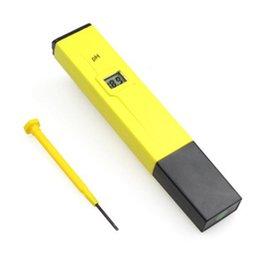 2019 medidor ph ph digital gratuito Digital PH Meter / Tester 0-14 Pocket Pen acuario Ph tester ph test 5 unids envío gratis medidor ph ph digital gratuito baratos