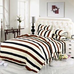 Wholesale Crib Comforter Cover - Wholesale-DY home bedding set 100% polyester duvet cover flat sheet pillowcase comforter bedding sets
