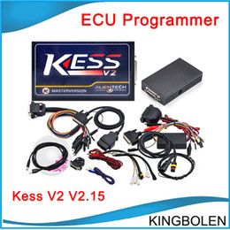 Wholesale Rover Kits - 2017 Newest KESS V2 V2.23 OBD2 Manager Tuning Kit unlimited Token Kess V2 FW V4.036 Master version ECU chip tuning DHL free shipping
