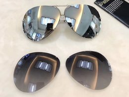 Wholesale Extra Lenses - Design P 8478 Titanium Gunmetal Aviator Sunglasses +Extra Lenses Unisex 2016 Fashion Eyewear Brand New with Box