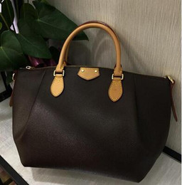 Wholesale Genuine Leather Hand Bags - New style high quality Genuine leather brand designer fashion women's Tulene MM Second Hand Beautiful Bag with strap shoulder bag