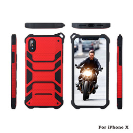 Wholesale Aegis Case - Case For iPhone X Armor 2in1 Aegis Rugged Hybrid Cover for iPhone 8 8plus 7 7plus plus Protector shell PC + TPU Case Skin