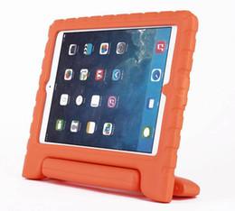 Wholesale Child Kid Ipad Case Cover - Child Kids Shock Proof Foam Drop Resistance EVA Cover Case Handle Stand For iPad Mini 1 & 2