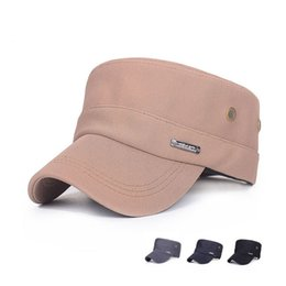 Wholesale Top Trapper Hats Men - 2015 spring and summer in the old man in the Korean version of the new top hat cap breathable cotton casual baseball cap
