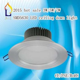 Wholesale Down Light Embedded - 2015 hot sale 3w 5w 7w T19 SMD5630 lamp lighting LED surface mounted embed down light price 50PCS LOT