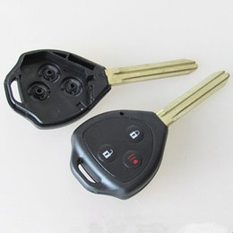 Wholesale Toyota Camry Wholesale Price - Best price for new toyota 3 button remote key shell FOB key blank case 25pcs lot free shipping
