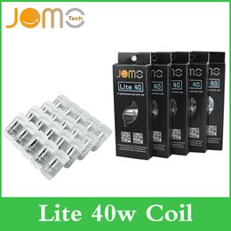 Wholesale Lite Replacement - Top quality Jomo Lite 40w Sub Ohm coil Replacement Head Coils for Jomo Lite 40W box mod full kit