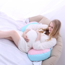 Wholesale Massage Products For Women - High Quality Soft Lumbar Pillow for Pregnant Woman Ergonomic Waist Pillow Comfortable Maternity Product