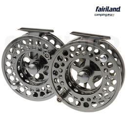 "Wholesale precision stock - wholesale DIA2.8""-4.3"" 2BB+1 metal fly fishing wheel PRECISION MACHINED fly reel from BAR-STOCK ALUMINUM express line shipping"