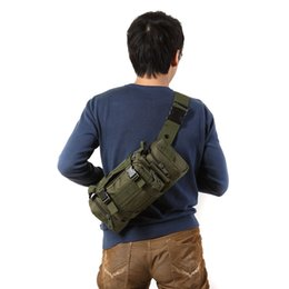 Wholesale Military Camouflaged Backpack - S5Q Military Backpack Assault Combined Rucksacks Sport Camping Travel Casual Bag AAAEMA