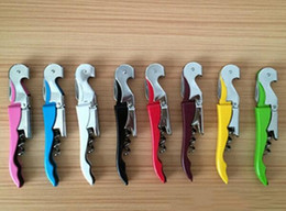 Wholesale Champagne Wholesale Prices - Best price !!!Professional Wine Screw Corkscrew Opener Household Accessories Wine Champagne Grape Wine Bottle Opener DHL
