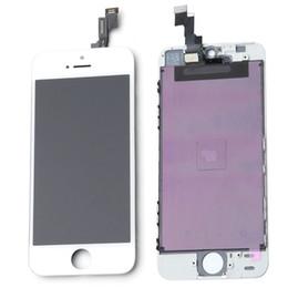 2019 iphone 5s digitizer ersatzgroßverkauf Großhandels-Wiedereinbau für iPhone 5S weißes LCD-Anzeige-Touch Screen Glasdigitalisierer-Versammlung für Modell A1533 / A1457 / A1530 / A1453 / A1518 / A1528 rabatt iphone 5s digitizer ersatzgroßverkauf