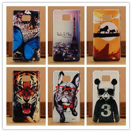 Wholesale Galaxy S2 Hard Cover - High Quality Protector Painting Case For Samsung Galaxy S2 SII I9100 Back Cover Hard Cases Wholesales PY